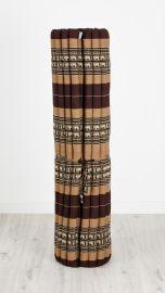 Kapok Rollmatte, Gr. XL, braun / Elefanten