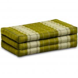 Kapok Matratze für Kinder, Faltmatratze  grün
