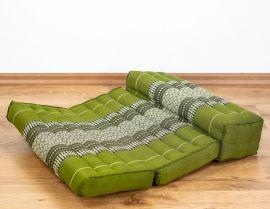 Stützkissen, Yogakisssen (klappbar)  grün