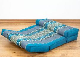 Stützkissen, Yogakisssen (klappbar)  hellblau
